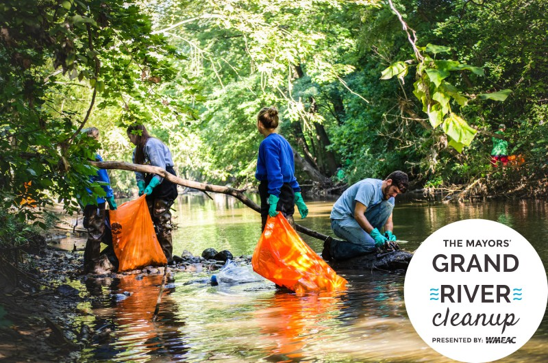 Mayors' Grand River Clean Up