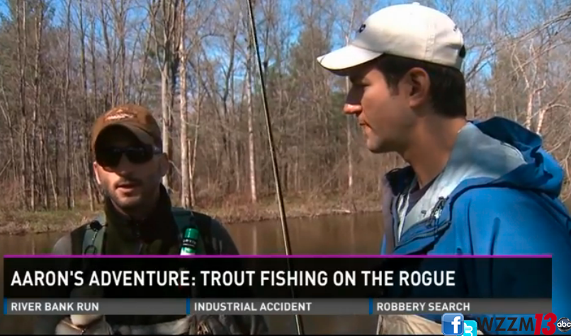 Rogue River featured on WZZM TV