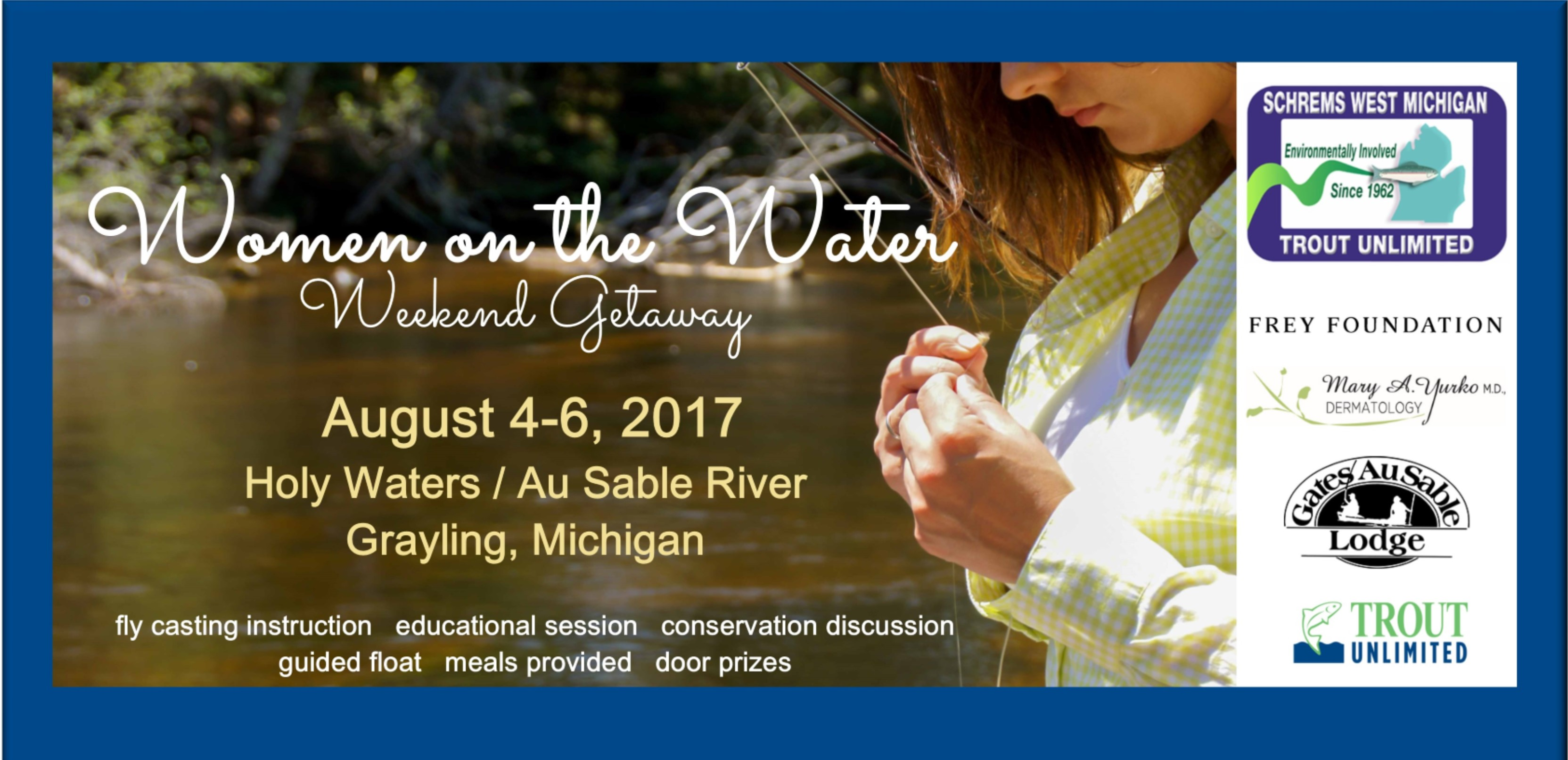 Women on the Water Weekend Getaway