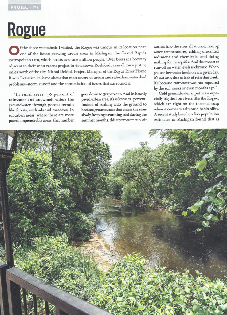 Rogue River Home Rivers Initiative - Trout Magazine - Page 1