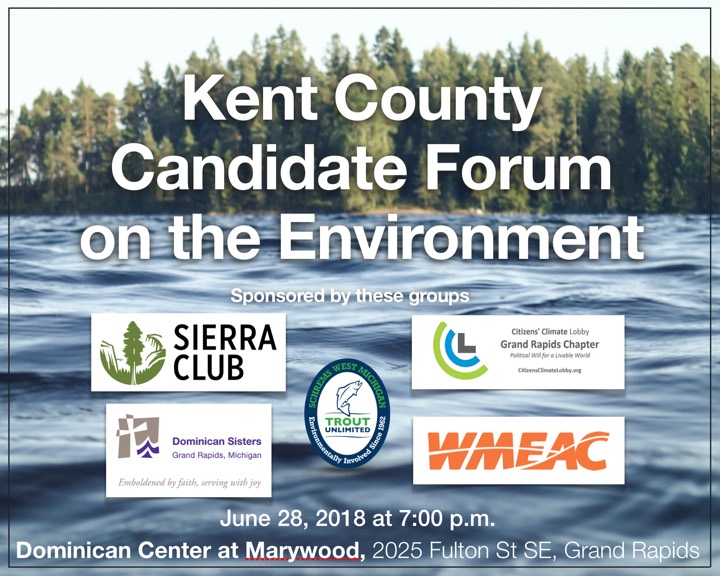 Kent County Candidate Forum on the Environment