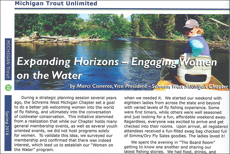 Engaging women on the water