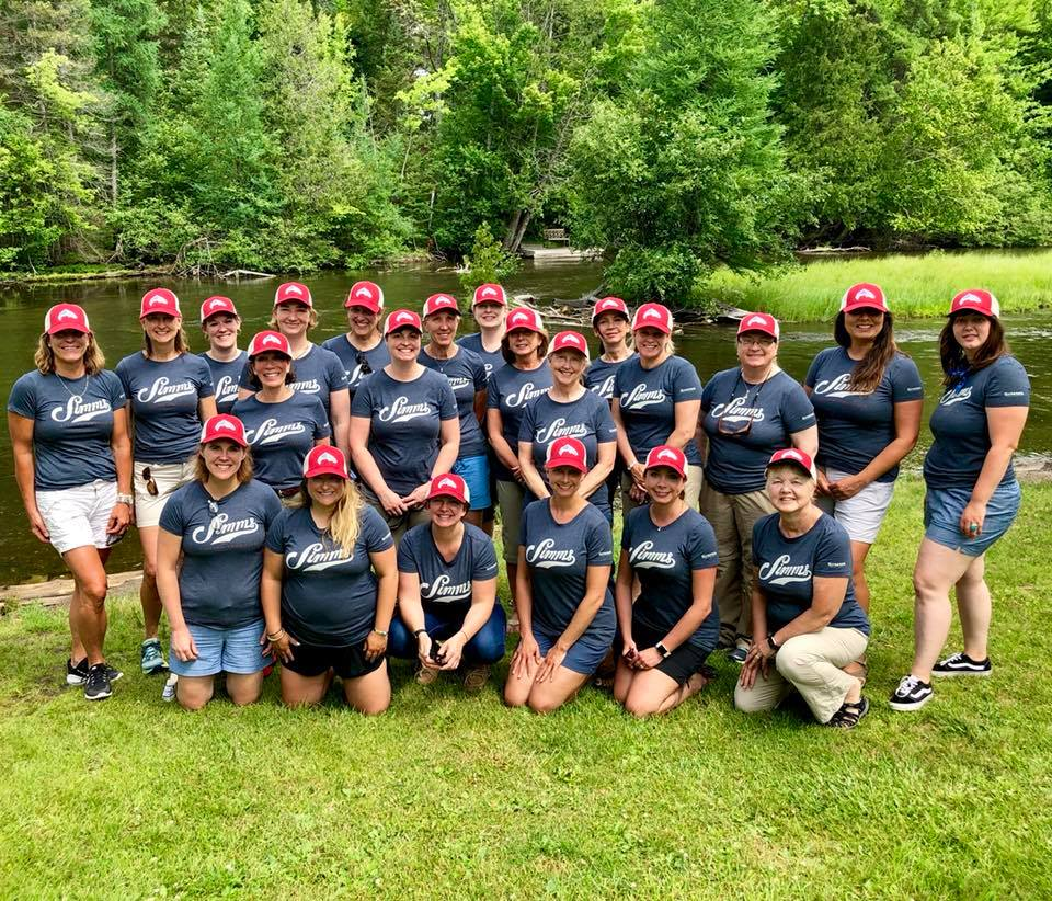 Women on the Water weekend: Au Sable River edition