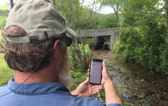 RIVERS mobile app allows you to document water quality issues