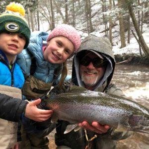 The four seasons of fly fishing Michigan's Upper Peninsula