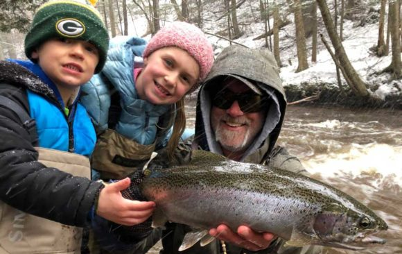 The four seasons of fly fishing Michigan's Upper Peninsula